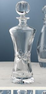 "TOWLE Elegant Vintage Crystal Decanter 12 7/8"""